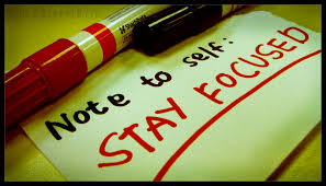 Note To Self Focused