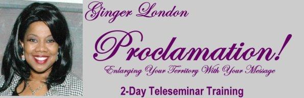 Proclamation Website Header