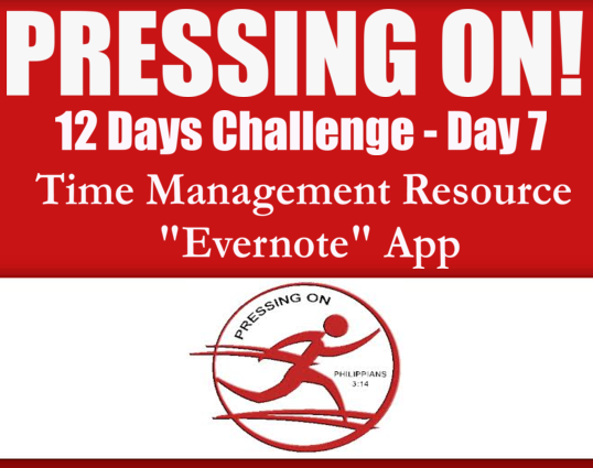 Pressing On Day 7 Time Management App