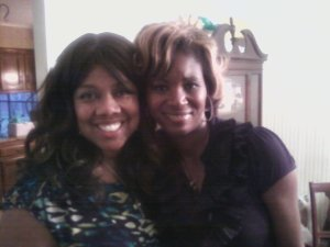 Ginger London and Tremekia Dabney (cousin)
