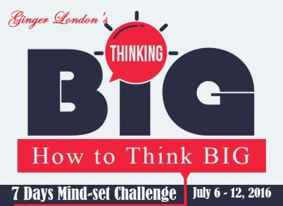 ThinkingBig 7 Days Challenge Header