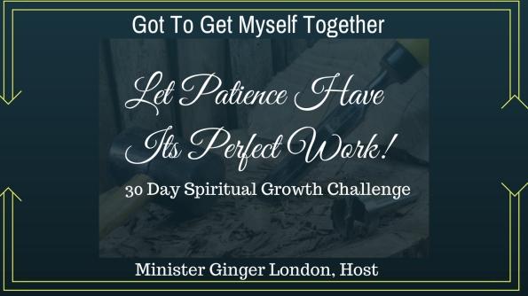 Patience Challenge Banner